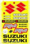 Suzuki táblás matrica.